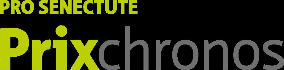 Logo du Prix Chronos, décerné par Pro Senectute.